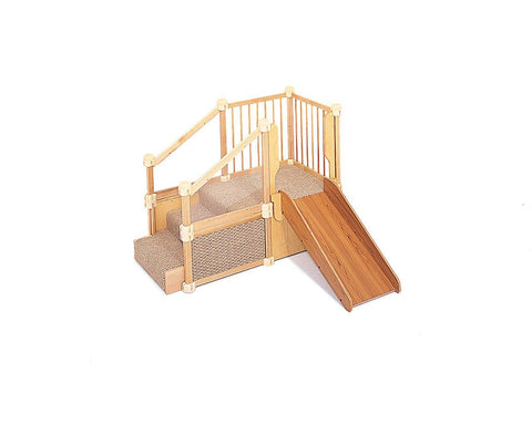 Nursery Gym 1 with slide by Community Playthings - louisekool