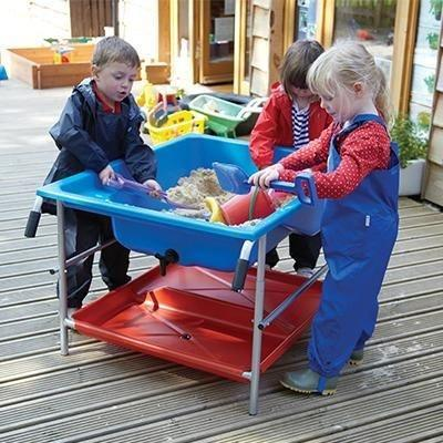 Oasis Sand and Water Play Table: Storage Shelf Only - louisekool