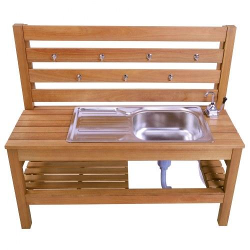 Outdoor Mud Kitchen with Pump - louisekool