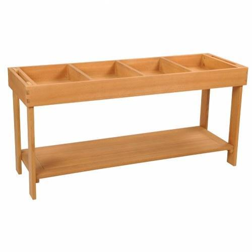 Outdoor Sorting Table with Lid - louisekool