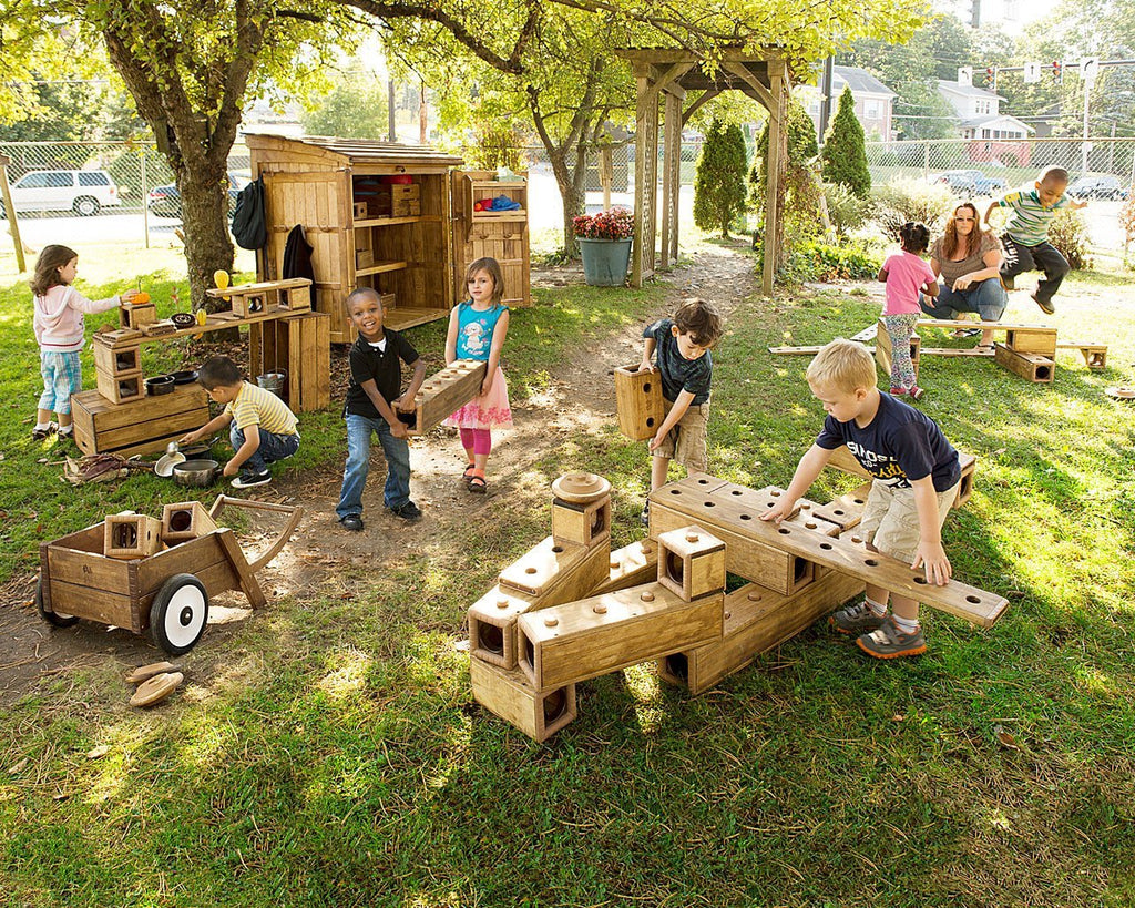 Outlast Outdoor Blocks by Community Playthings - louisekool