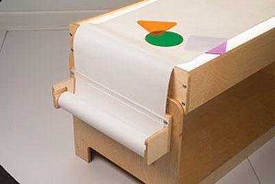 Paper Roll Holder and Paper Roll for Light Table - louisekool