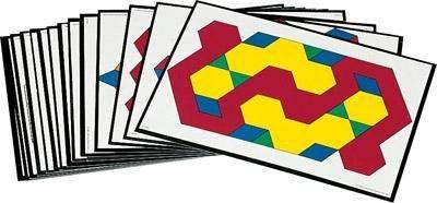 Pattern Block Design Cards - louisekool