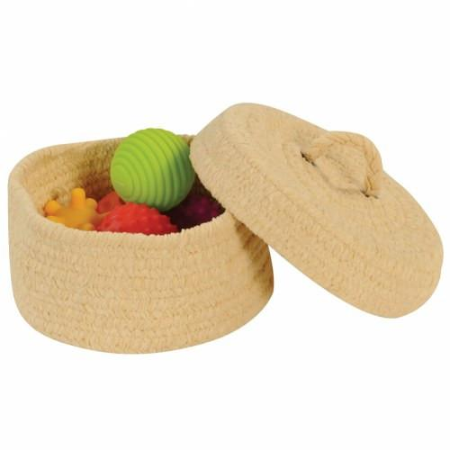 Peekaboo Basket with Lid - louisekool