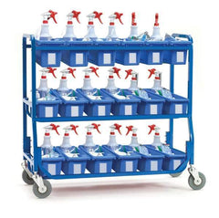 Personal Storage Tub Cart - Premium Model - louisekool