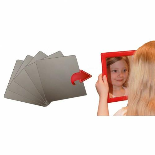 Plastic Mirror Inserts Set of 5 - louisekool