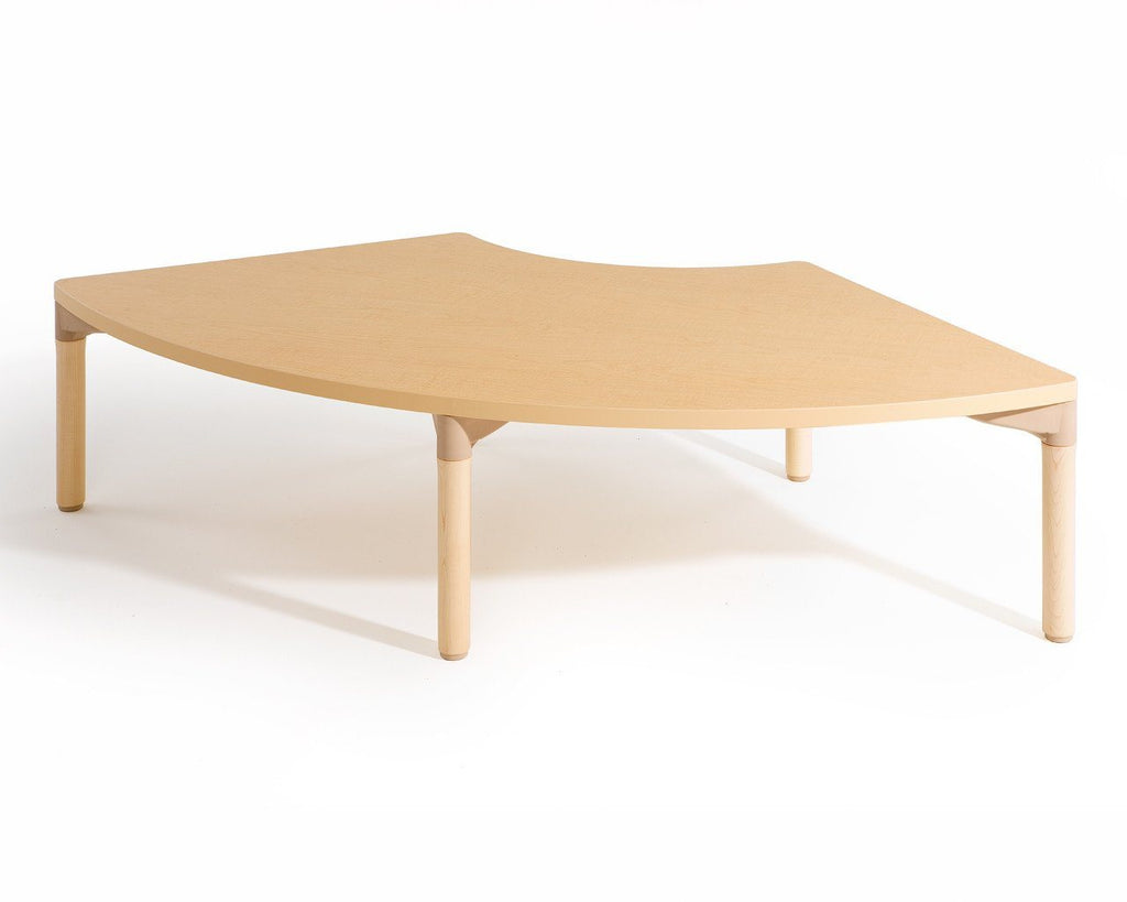 Quarter Circle Table by Community Playthings - louisekool