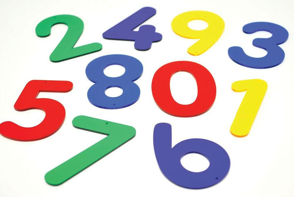 Rainbow Numbers - Set of 12 - louisekool