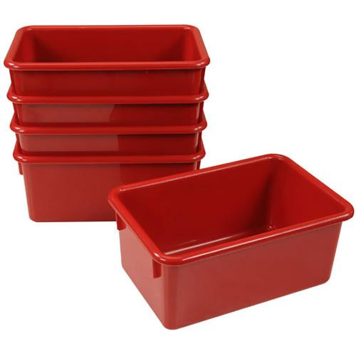 Red Storage Bins - louisekool