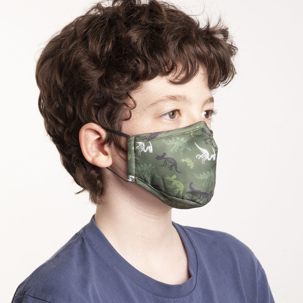 Reusable Masks for Children - Dino - louisekool