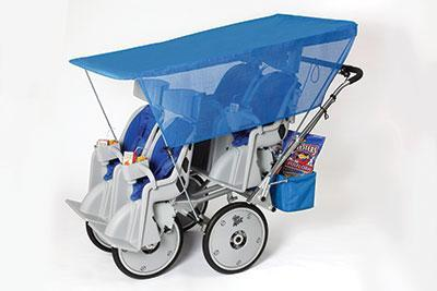 Runabout Stroller Sun Canopy and Side Panels - louisekool