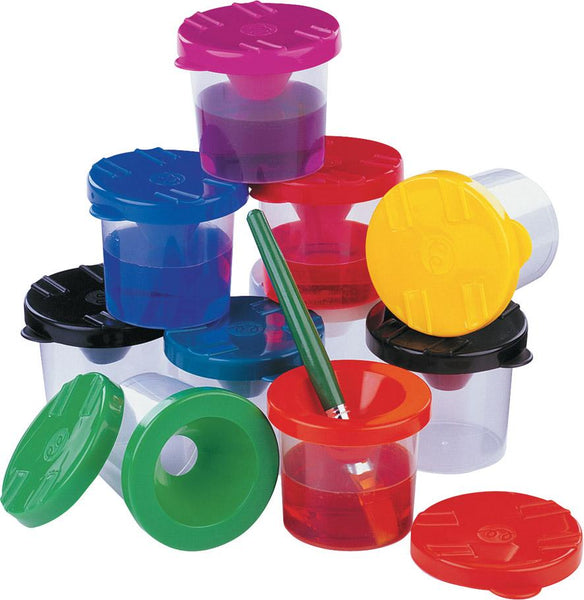 Safety Plastic Containers with Lid - louisekool