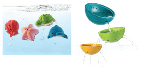 Sea Life & Fountain Bowl Set - louisekool