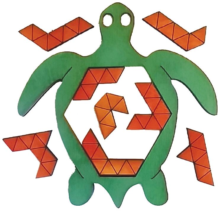 Sea Turtle Puzzle - louisekool