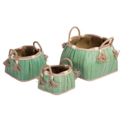 Sense of Place Woven Baskets - Set of 3 - louisekool