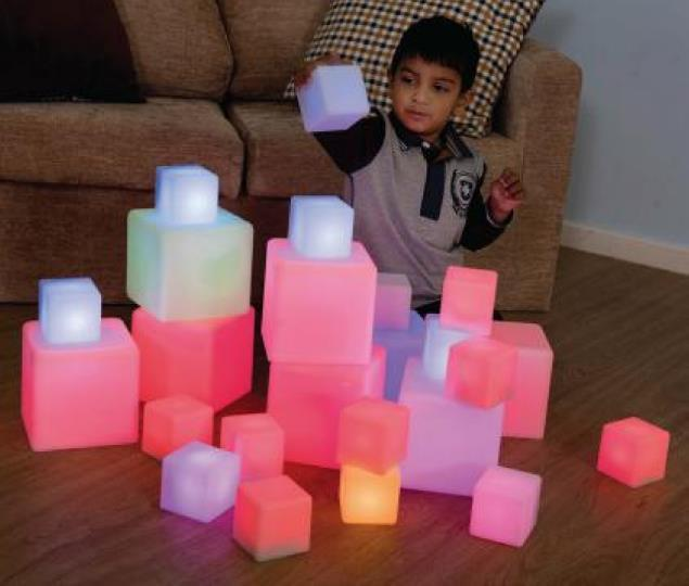 Sensory Glow Blocks - louisekool