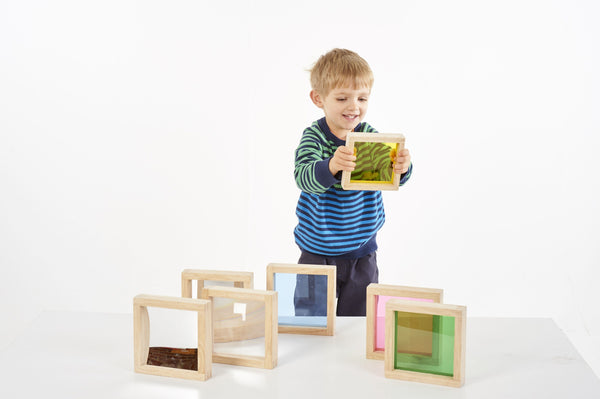 Sensory Squares - Set of 7 - louisekool