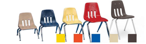 "Shell Stacking Chairs - 35cm (14"") - louisekool"