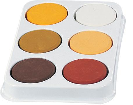 Skin Colours Tray - louisekool