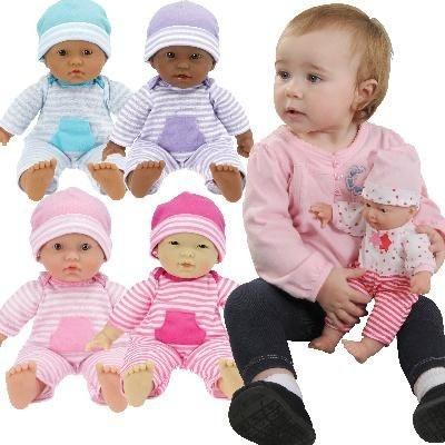 "Soft Body Baby Dolls Set Of 4 - 28cm (11"") - louisekool"