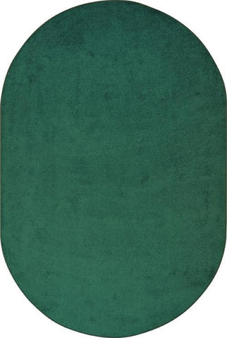 Solid Colour Carpets - Oval - louisekool