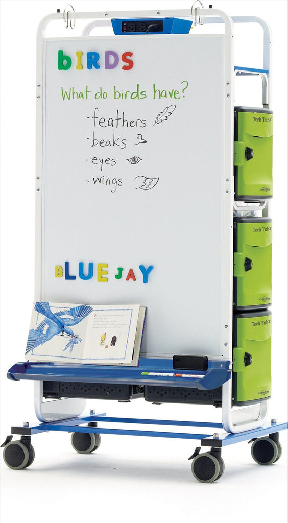 Tech Tub2 Dual Duty Teaching Easel - louisekool