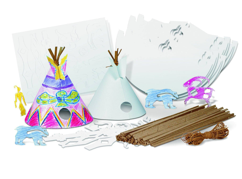 Teepee Activity Kit - louisekool