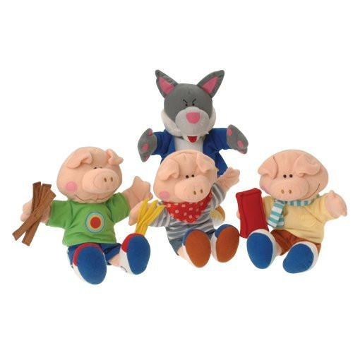 The Three Little Pigs Puppets - louisekool