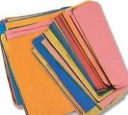 Tissue Paper - Assorted Colours - 100 Pieces - louisekool