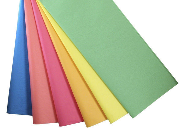 Tissue Paper - Primary Colours - 144 Pieces - louisekool