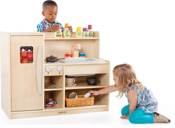 Toddler Pretend and Play Kitchen - louisekool