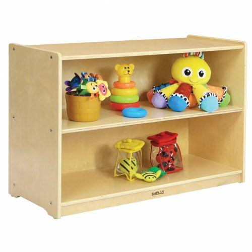 Toddler Shape-A-Space™ Straight Storage Unit and End Shelf - louisekool
