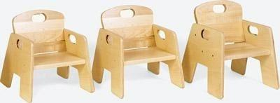 Toddler Stacking Chairs - Set of 2 - louisekool