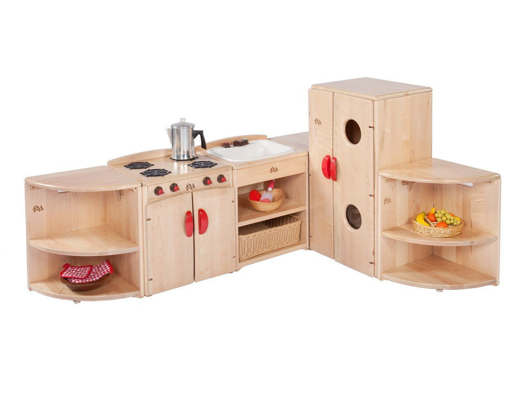 Toddler Village Kitchen Corner by Community Playthings - louisekool