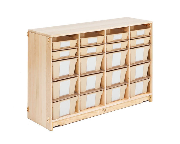"Tote Shelf 4'W x 32"" H  by Community Playthings - louisekool"