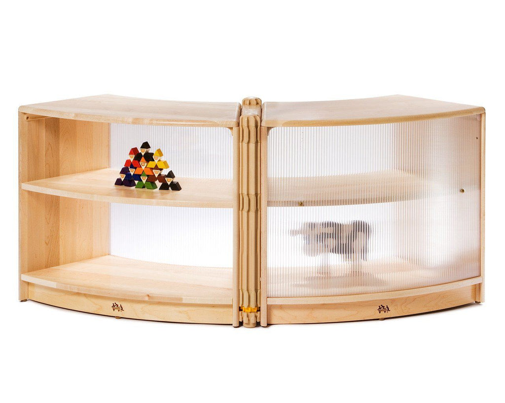 Translucent Sweep Shelf by Community Playthings - louisekool