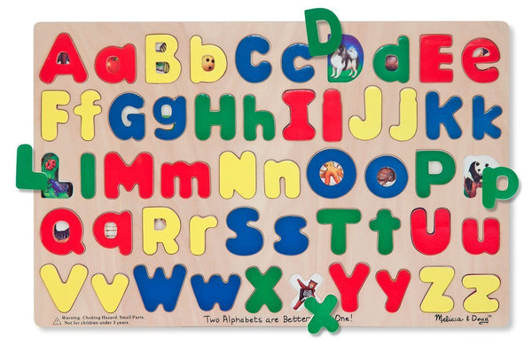 Upper and Lowercase Alphabet Puzzle - louisekool