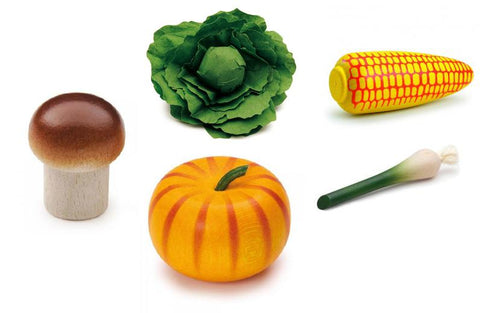 Vegetable Set of 5 - louisekool