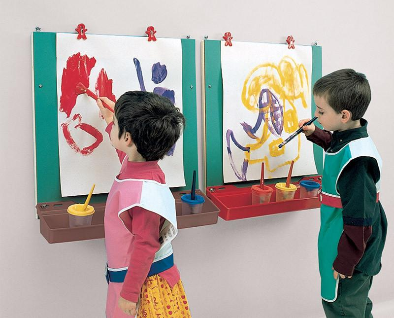 Wall-Mounted Easel - louisekool