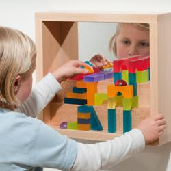 Wall Play Frame With Mirror - louisekool