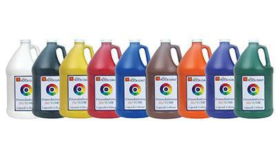 Washable Tempera Liquid Colour Paint - 3.75L - louisekool