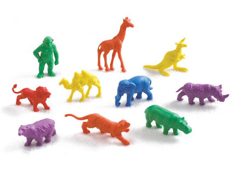 Wild Animal Counters - Set of 120 - louisekool