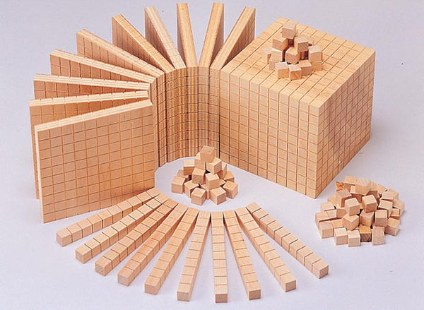 Wooden Base Ten Set - Set of 10 - louisekool
