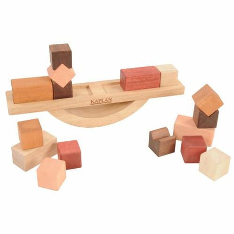 Wooden Block Balance - Set of 17 - louisekool