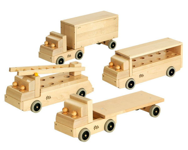 Wooden Large Trucks by Community Playthings - louisekool