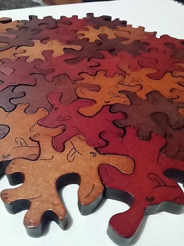 Wooden Puppies Puzzle - louisekool