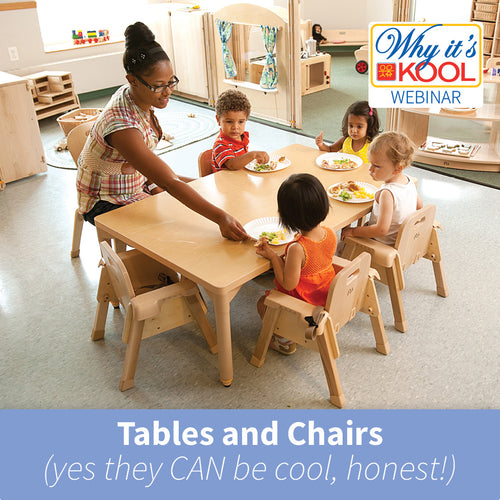 Teacher and toddlers sitting around table