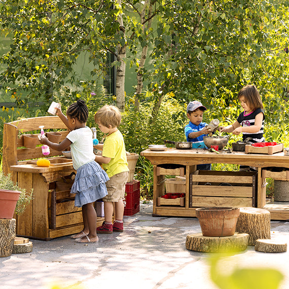 Outdoor classroom furnishings and resources