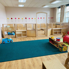Infant room divider Roomscapes - Montessori Academy Learning Centre Cambridge