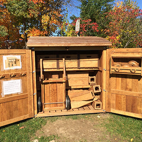 Outlast shed in Barrie Discovery Childcare Centre